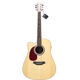 Artist D75CEQL Left Handed Acoustic Electric Guitar Solid Spruce Top