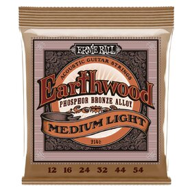 Ernie Ball 2146 Acoustic Guitar Strings Medium/Light 12-54