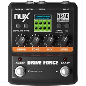 NuX Drive Force Modeling Stomp Simulator + EQ and Cabinet Simulator