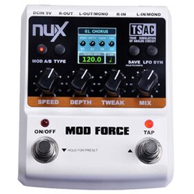 NuX MOD FORCE Multi Modulation Effects Pedal