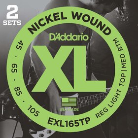 D'Addario EXL165TP Electric Bass Strings  45-105