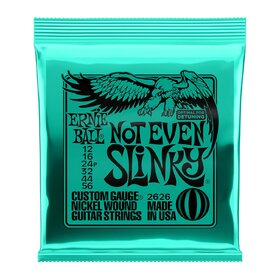 Ernie Ball 2626 Electric Guitar Strings Not Even Slinky 12-56