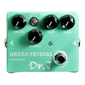 Dr.J D50 Green Crystal - Boutique Quality Overdrive Pedal