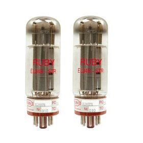 Ruby EL34BSTR Power Vacuum Tube Matched Pair