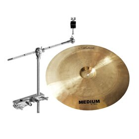 Artist MCH18PK China Cymbal + Stand Add-On Pack