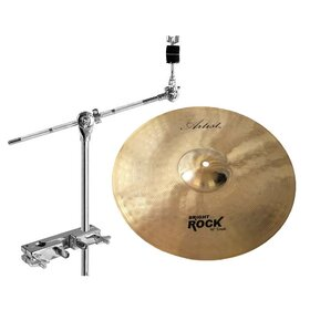 Artist BRC16PK Crash Cymbal + Stand Add-On Pack