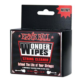 Ernie Ball E4249 Wonder Wipes String Cleaner 20 Pack