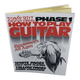 Ernie Ball E7001 How To Play Guitar Phase 1 Book