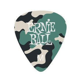 Ernie Ball E9222 Camouflage Picks Medium Pack of 12
