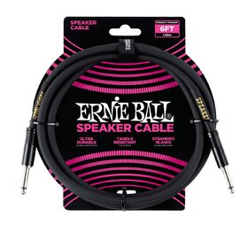 Ernie Ball 6072 6ft 1.83m Straight/Straight Speaker Cable