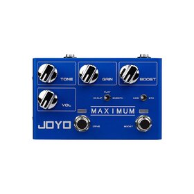 Joyo R05 Revolution Series Maximum Overdrive Guitar Effects Pedal