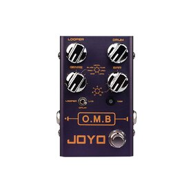 Joyo R06 Revolution Series OMB Looper and Drum Machine Guitar Pedal