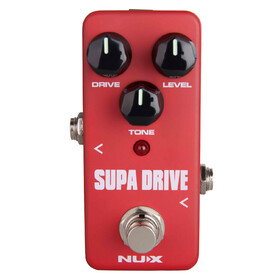 Nux FOD5 Supa Drive Mini Overdrive Guitar Effects Pedal