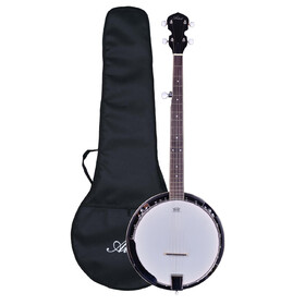 Artist BJ01 5 String, 24 Bracket Bluegrass Banjo with Geared 5th Tuner