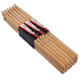 Artist DSM7A Maple Drumsticks with Wooden Tips 12 Pack