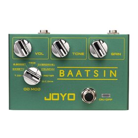 Joyo R11 Revolution Series Baatsin Overdrive Guitar Effects Pedal