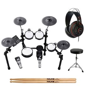 Nux DM7X All Mesh Head Electronic Drumkit Full Pack