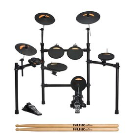 NuX DM2 8 Piece Digital Electronic Drum Kit