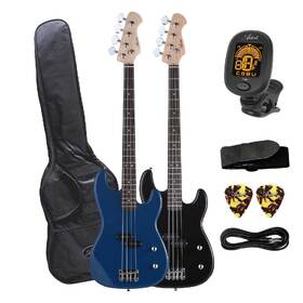 Artist PB2 Electric Bass Guitar with Accessories