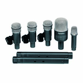Superlux DRKB5C2 MKII 7-Piece Studio-Grade Drum Mic Set