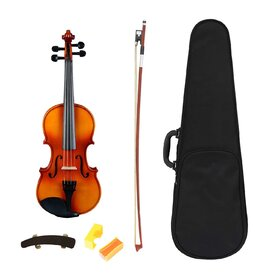 Artist SVN34 Solid Wood Student Violin Package 3/4 size