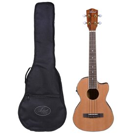 Artist UKT150CEQ Tenor Ukulele, Solid Top + Cutaway, EQ and Bag