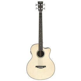 Factory 2nd Artist ABJ50CEQ Acoustic Electric Bass with Cutaway and EQ - Gloss Natural