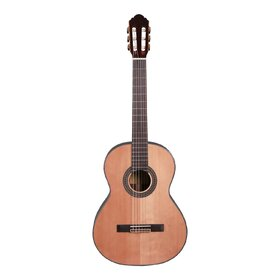 Factory 2nd Artist CG200 Classical Guitar, Solid Wood Spruce and Rosewood body