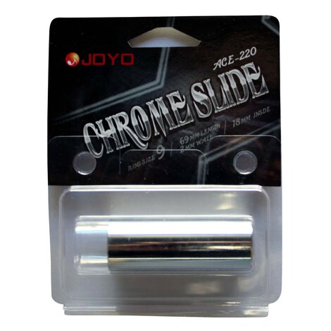 Joyo ACE220 Chrome Guitar Slide