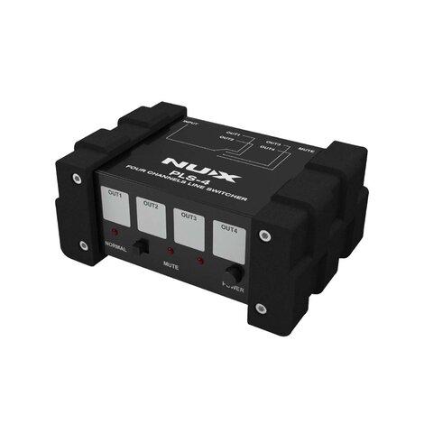 NuX PLS4 Four-channel Line Switcher