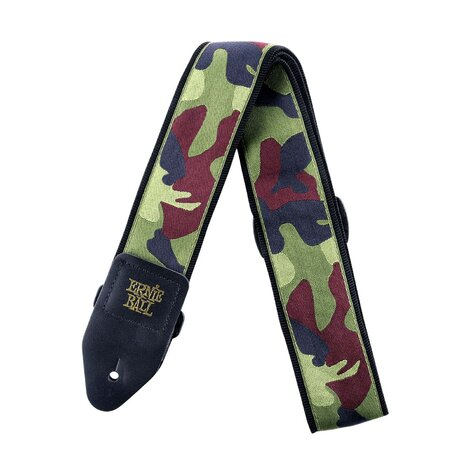 Ernie Ball E4105 Traditional Camo Jacquard Guitar Strap