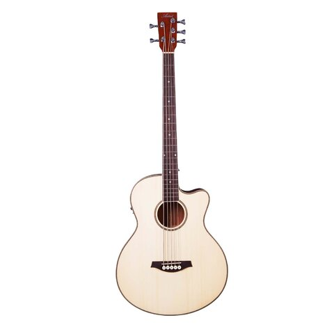 Artist ABJ605CEQ 5-String Acoustic Electric Bass with Cutaway + EQ