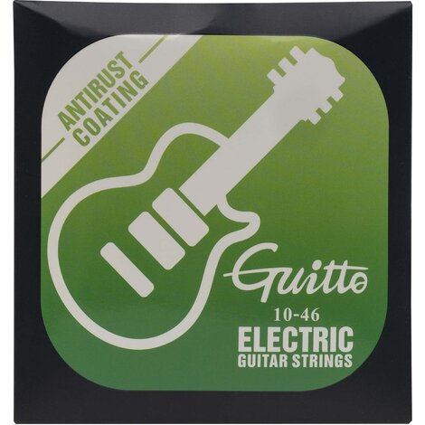 Guitto GSE010 Anti-Rust Coated Electric Guitar Strings 10-46
