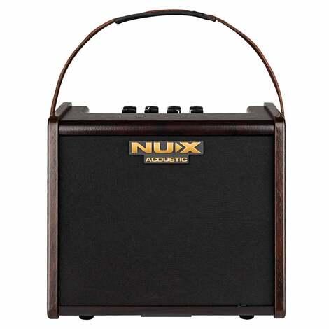 Nux AC25 Stageman 25 Watt Battery Powered Acoustic Guitar Amplifier