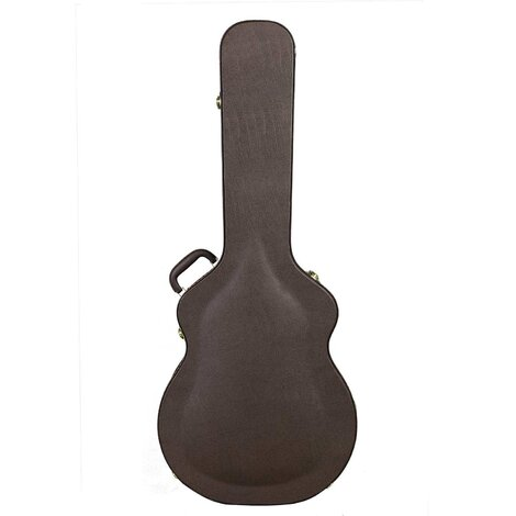 Artist JC500BR Jumbo-Large Guitar Arch Top Hard Case with Lock