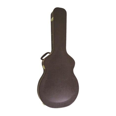 Artist JC450 Brown Arch Top Hard Guitar Case Fits 335 Style