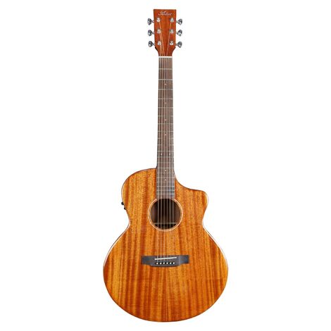 Artist JMH200CEQ Solid Mahogany Top Acoustic-Electric with Preamp