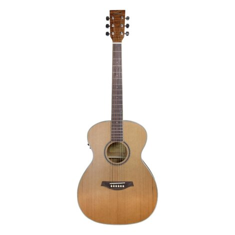 Artist OMC200EQ Solid Top OM Acoustic Electric Guitar with EQ