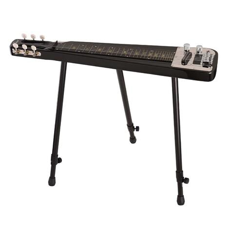 Customer Returned Artist MSL110 Lap steel 6 String Metallic Black